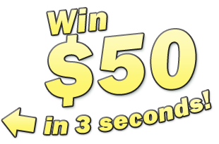 Win $50 in 3 seconds!